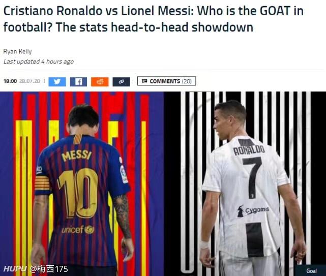 权威媒体7大数据对比:梅西C罗谁才是足坛之王?答案呼之欲出!  足球话题区